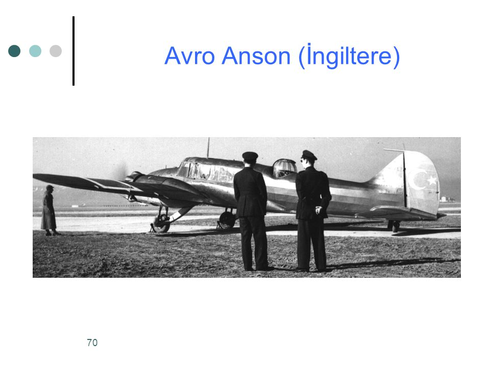 70 Avro Anson (İngiltere)