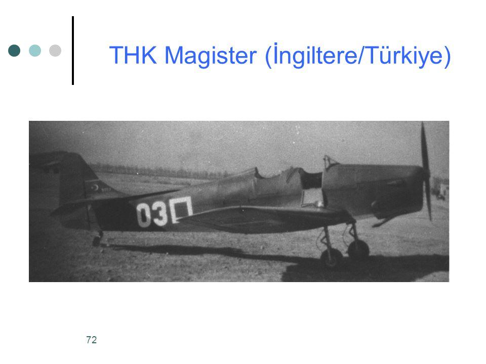 72 THK Magister (İngiltere/Türkiye)
