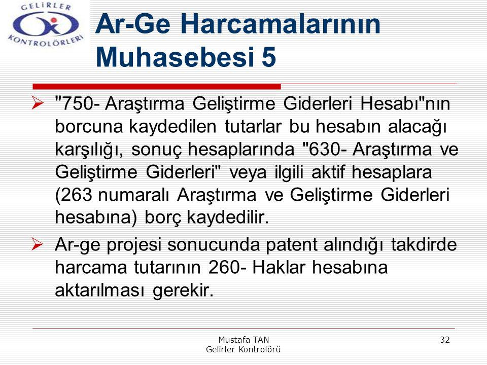 Mustafa TAN Gelirler Kontrolörü 32 