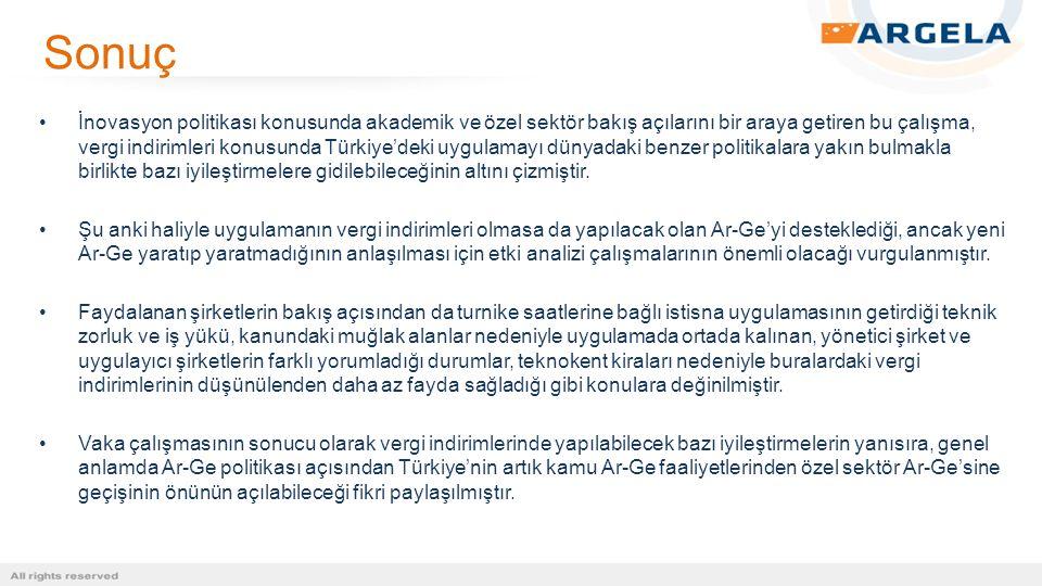 İnovasyon politikası konusunda akademik ve özel sektör bakış açılarını bir araya getiren bu çalışma, vergi indirimleri konusunda Türkiye'deki uygulama