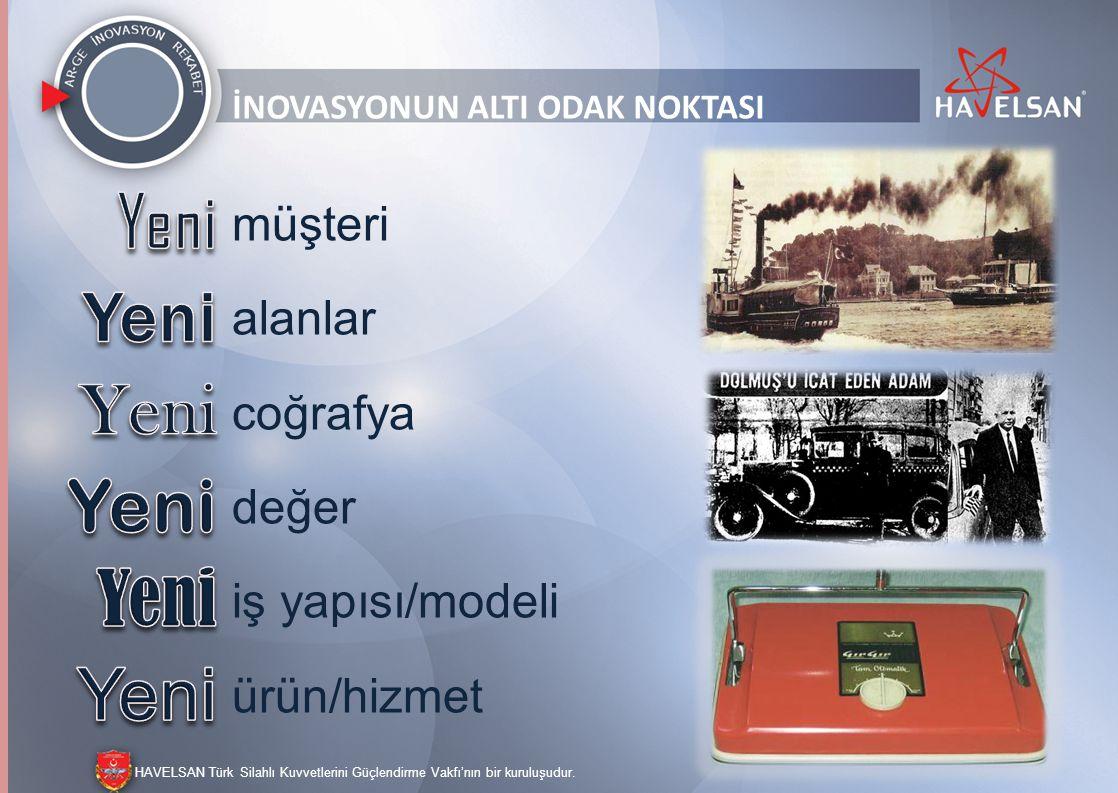 HAVELSAN Türk Silahlı Kuvvetlerini Güçlendirme Vakfı'nın bir kuruluşudur. SORULAR