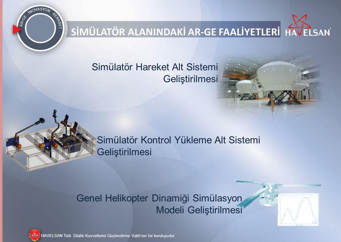 HAVELSAN Türk Silahlı Kuvvetlerini Güçlendirme Vakfı'nın bir kuruluşudur. REKABET KONUMLANDIRMASI