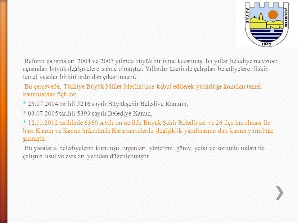 BÜYÜKŞEHİR BELEDİYE BAŞKANI'NIN GÖREVLERİ Büyükşehir belediye başkanı, büyükşehir belediye idaresinin başı ve tüzel kişiliğinin temsilcisidir.