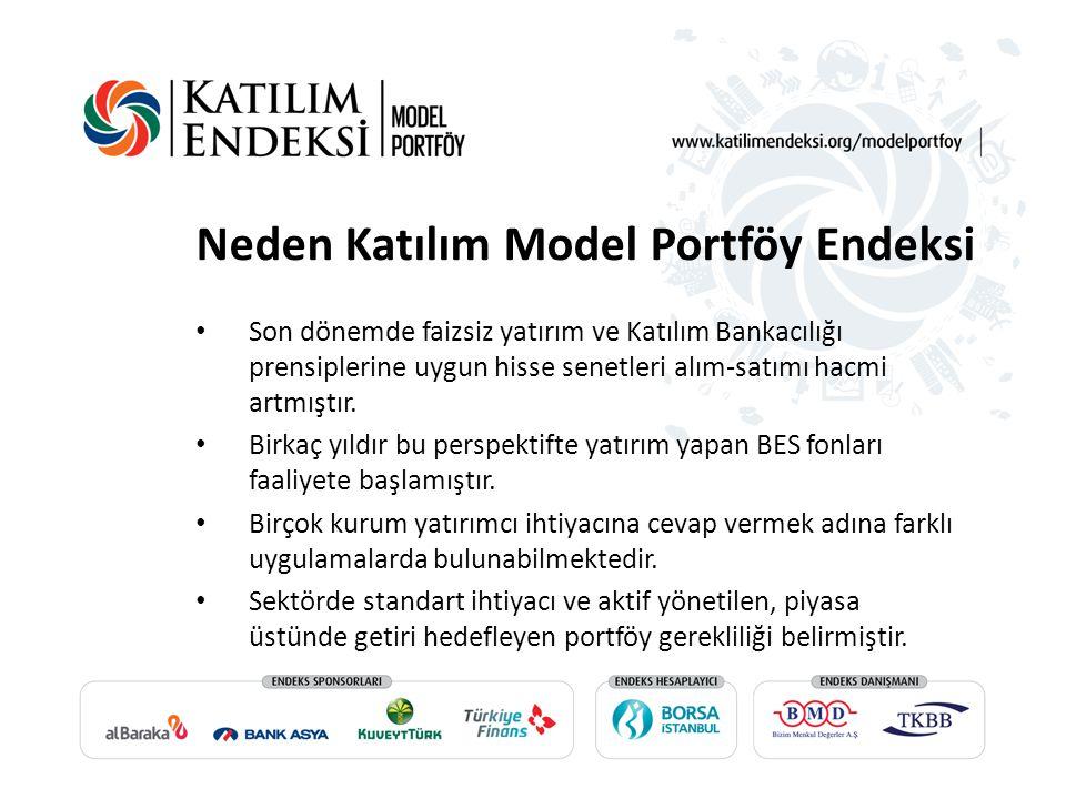 Neden Katılım Model Portföy Endeksi Son dönemde faizsiz yatırım ve Katılım Bankacılığı prensiplerine uygun hisse senetleri alım-satımı hacmi artmıştır
