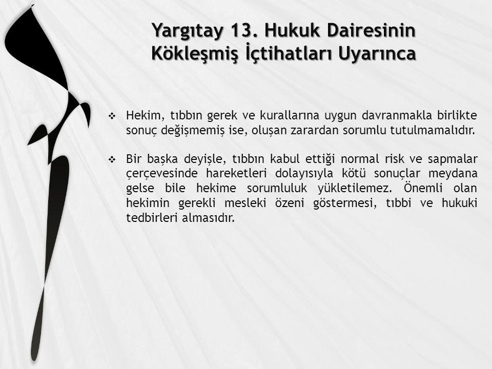 Yargıtay 13.
