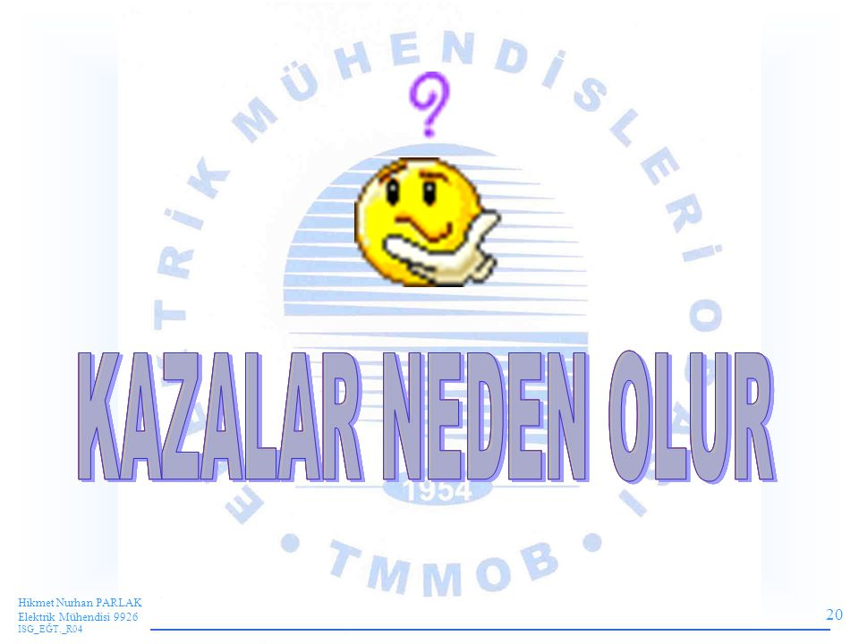 20 Hikmet Nurhan PARLAK Elektrik Mühendisi 9926 ISG_EĞT._R04
