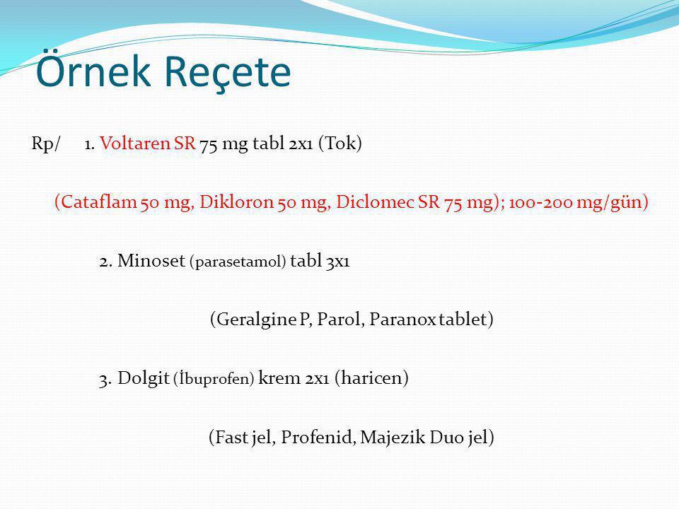 Örnek Reçete Rp/ 1.