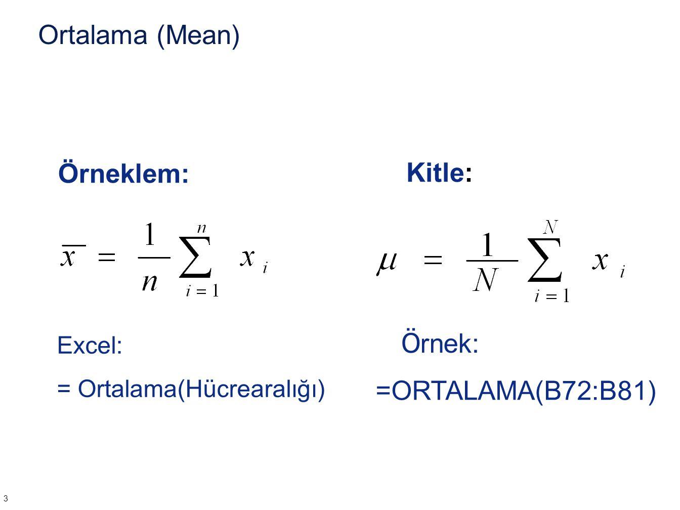 Örnek  =5.0 ve  =0.2 normal dağılımında 4.8 ve 5.4 arasındaki alanı bulunuz.