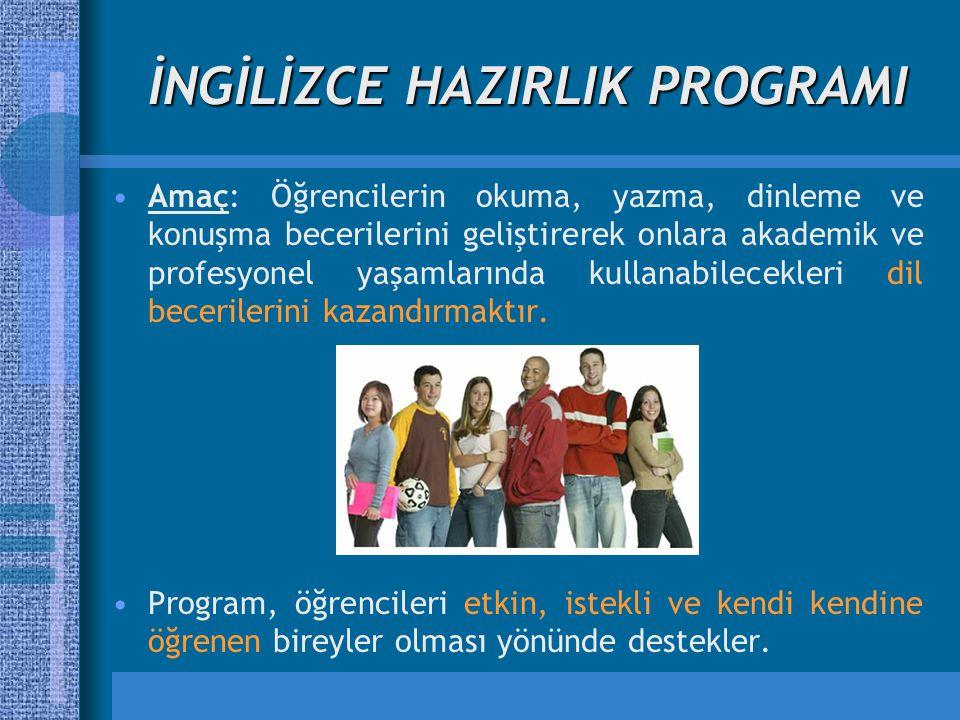 Modüler Sistem Bu programda eğitim, modüler sistem esaslarına göre yürütülür.