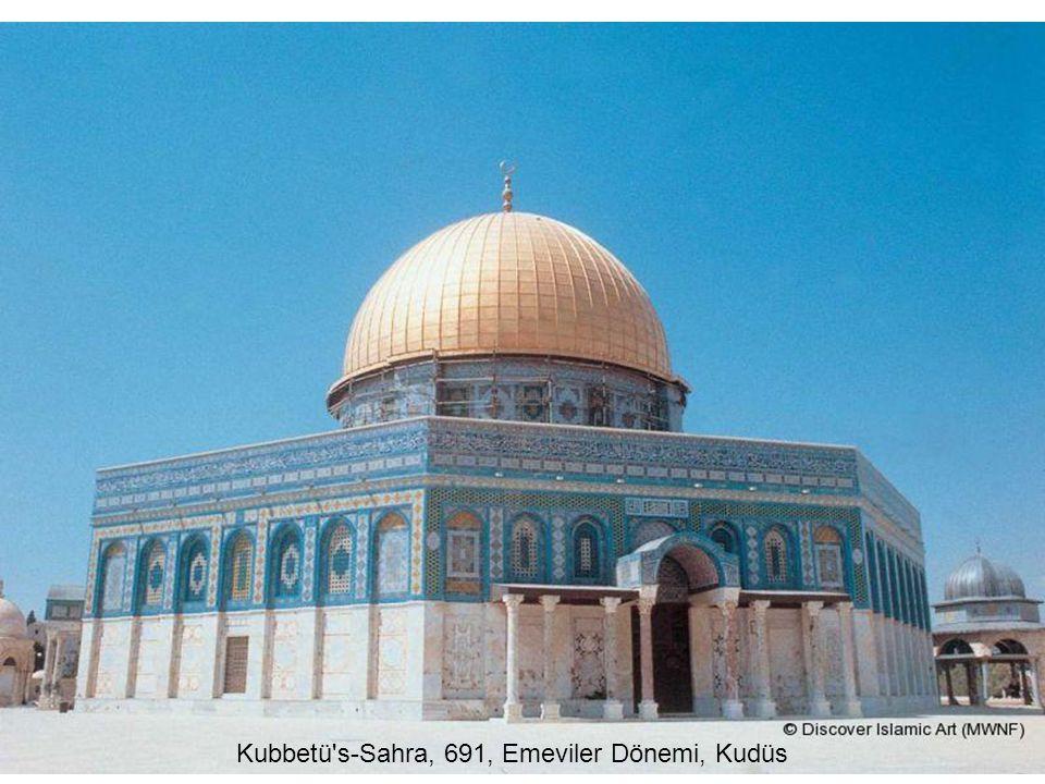 Kubbetü's-Sahra, 691, Emeviler Dönemi, Kudüs