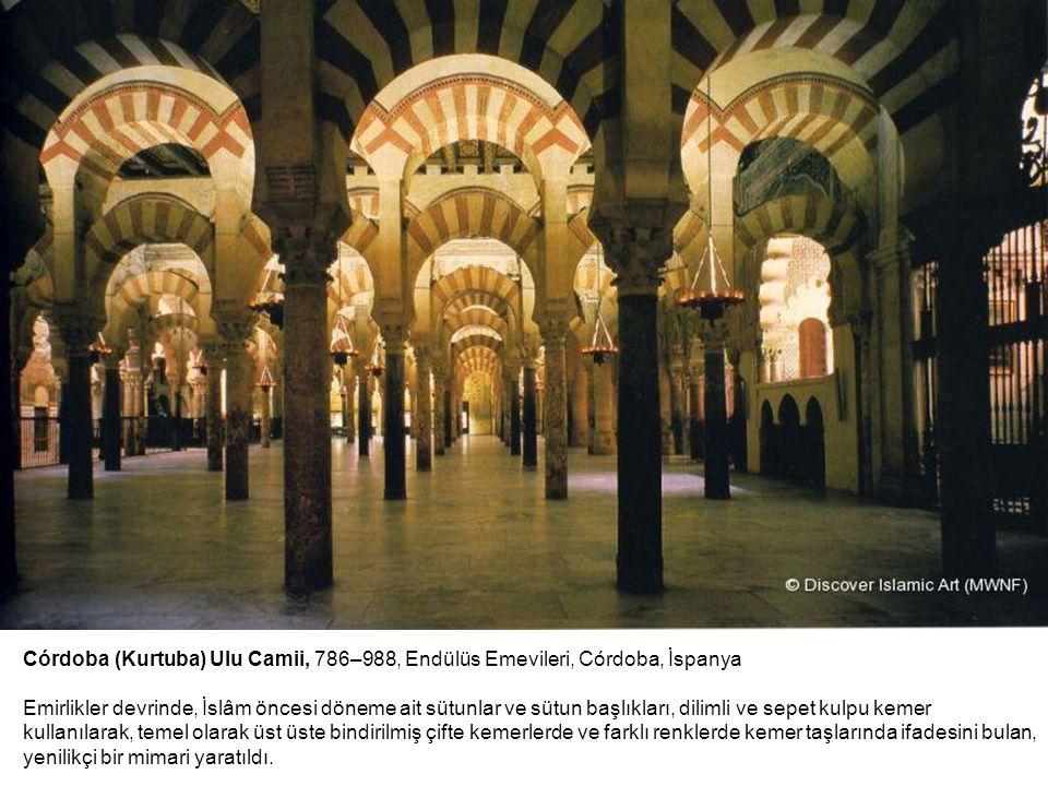 Córdoba (Kurtuba) Ulu Camii, 786–988, Endülüs Emevileri, Córdoba, İspanya Emirlikler devrinde, İslâm öncesi döneme ait sütunlar ve sütun başlıkları, d