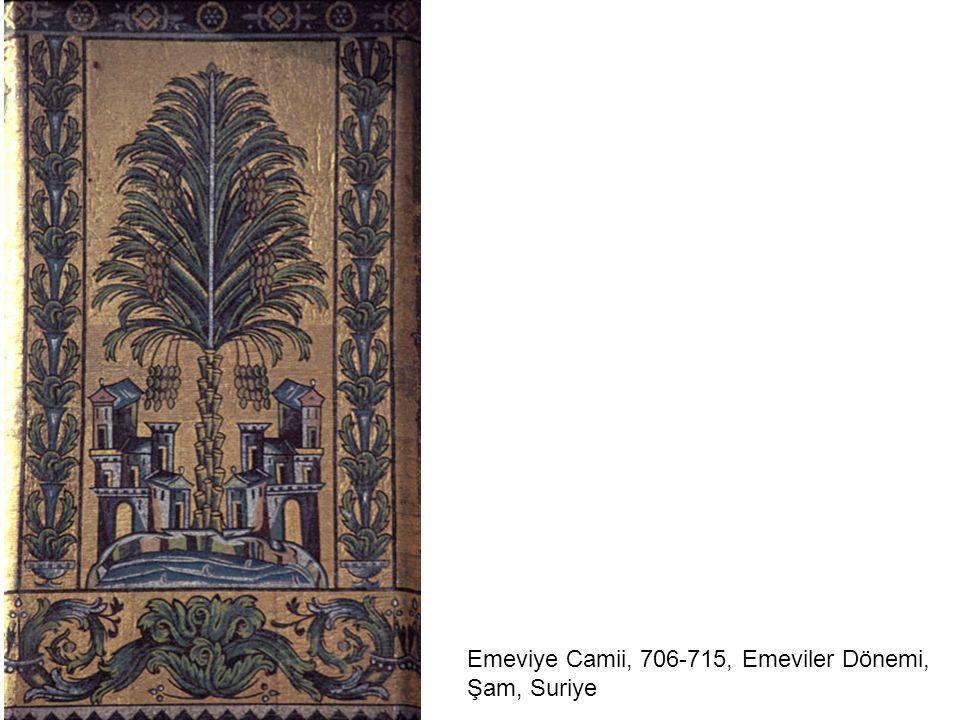 Mşatta Sarayı Cephesi, 8. yüzyıl ortaları, Emeviler Dönemi İslam Eserleri Müzesi, Berlin, Almanya