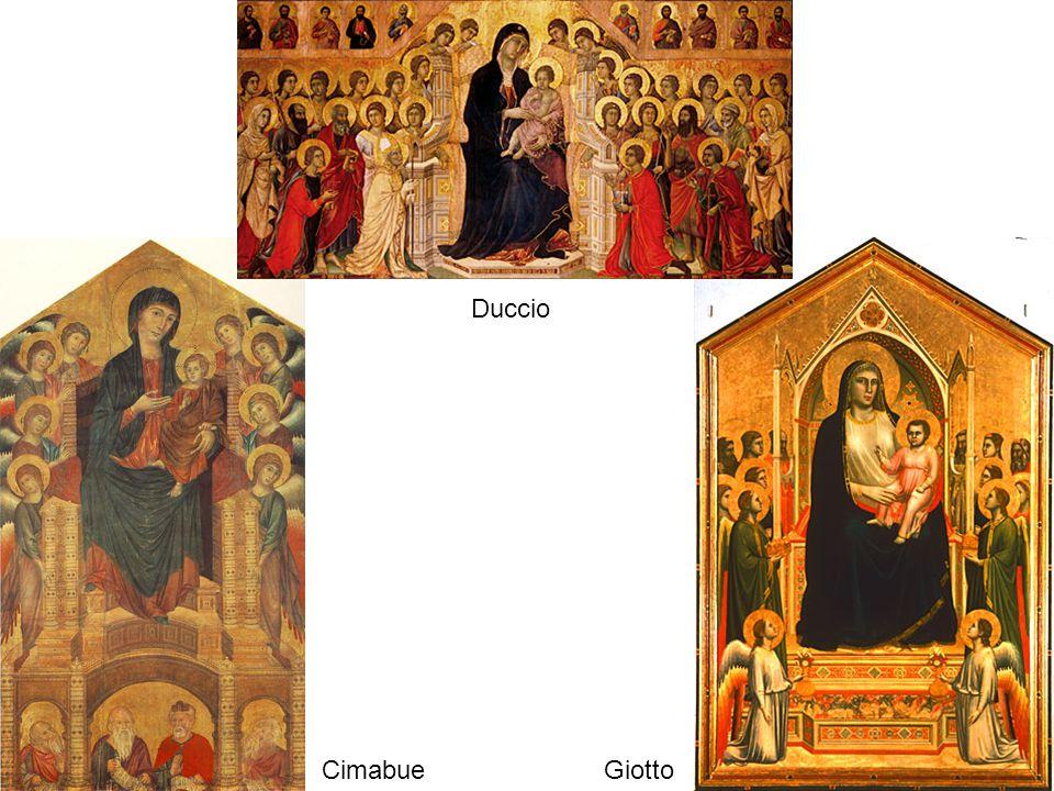 Duccio CimabueGiotto