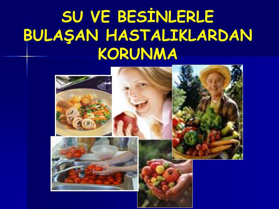 Depolanan Gıdaların Temizliğine dikkat edin !...