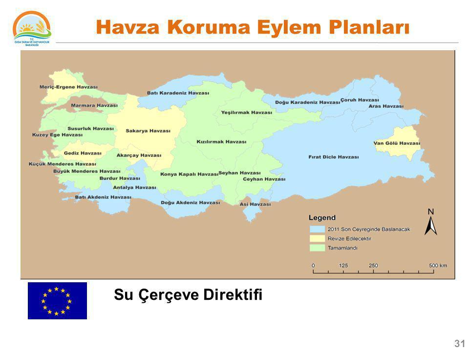 Havza Koruma Eylem Planları Su Çerçeve Direktifi 31