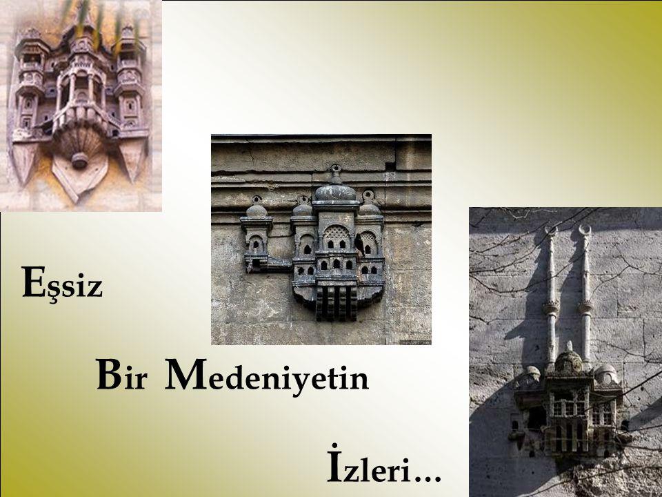 Cami, kervansaray, köprü, çeşme, ev gibi bütün mimari yapılarda kuş evleri geleneği…