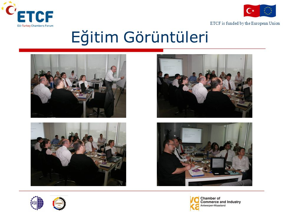 ETCF is funded by the European Union Eğitim Görüntüleri