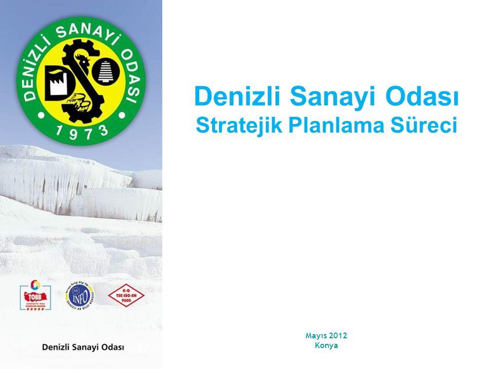 Mayıs 2012 Konya Denizli Sanayi Odası Stratejik Planlama Süreci