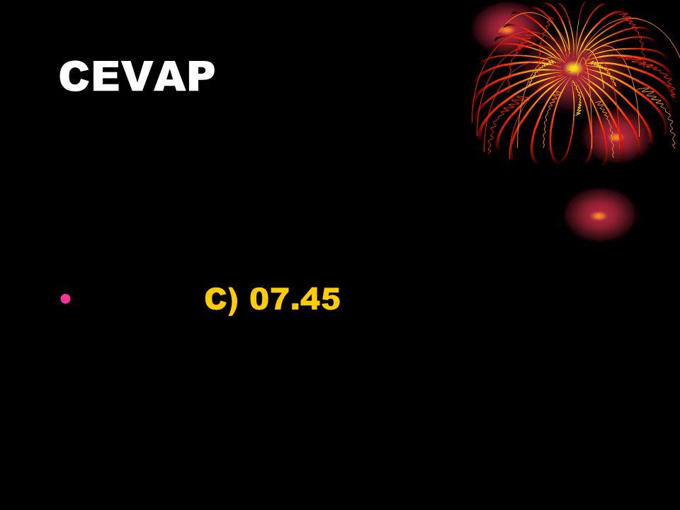 CEVAP C) 07.45