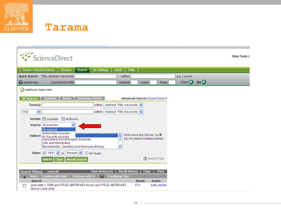 24 Tarama