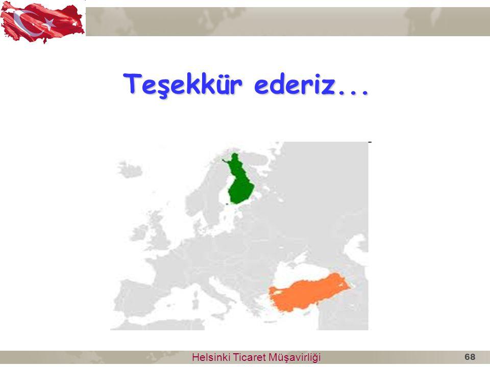Teşekkür ederiz... Helsinki Ticaret Müşavirliği Helsinki Ticaret Müşavirliği 68