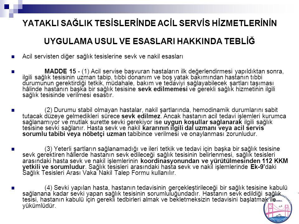 S.B TEDAVİ HİZMETLERİ G.M.