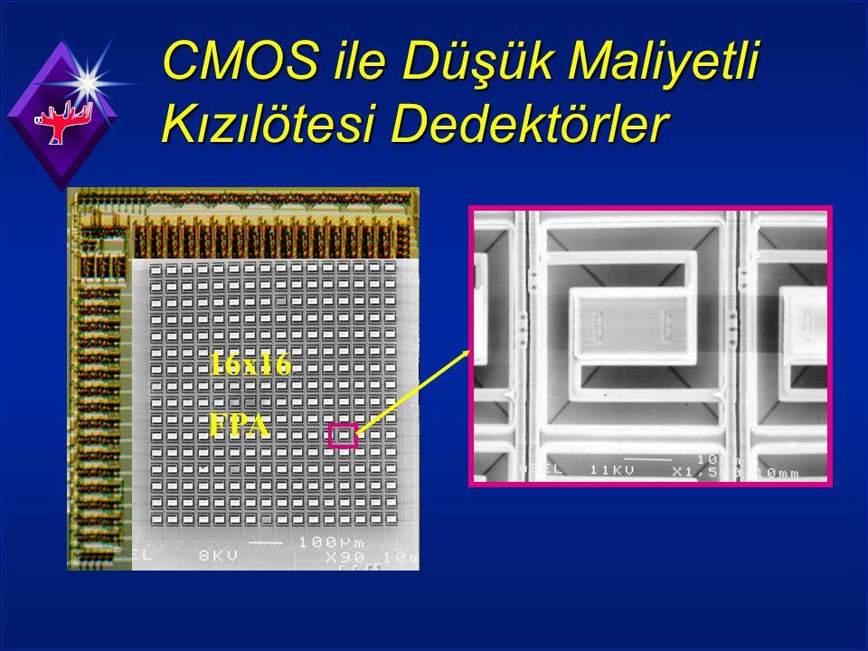 CMOS ile Düşük Maliyetli Kızılötesi Dedektörler 16x16 FPA