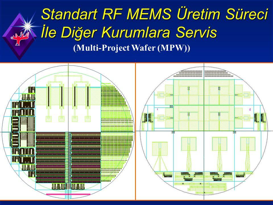 Standart RF MEMS Üretim Süreci İle Diğer Kurumlara Servis (Multi-Project Wafer (MPW))