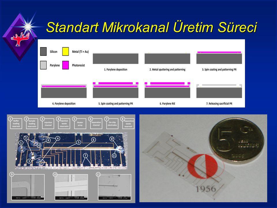 Standart Mikrokanal Üretim Süreci