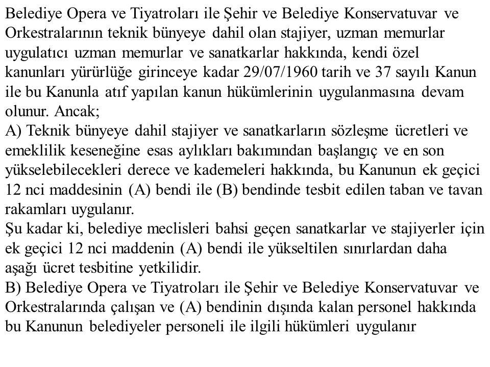 Belediye Opera ve Tiyatrola