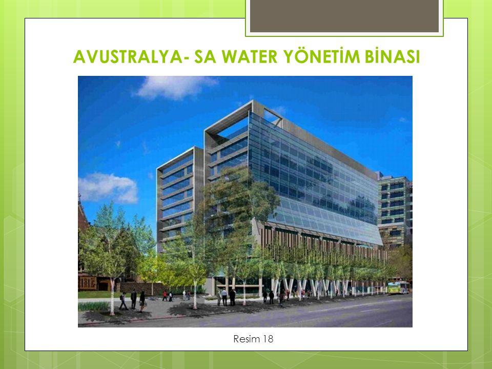 AVUSTRALYA- SA WATER YÖNETİM BİNASI Resim 18