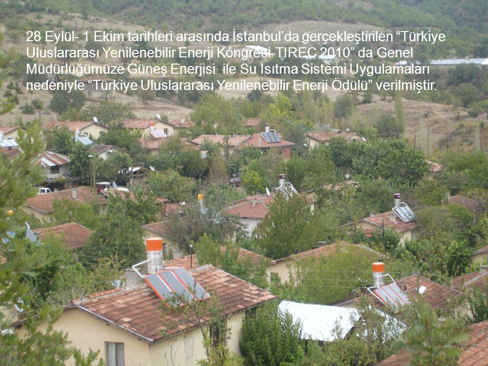 """28 Eylül- 1 Ekim tarihleri arasında İstanbul'da gerçekleştirilen """"Türkiye Uluslararası Yenilenebilir Enerji Kongresi-TIREC 2010"""" da Genel Müdürlüğümüz"""