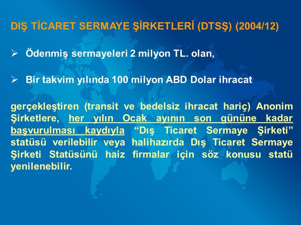 DESTEĞİN AMACI: Türkiye de sınai ve/veya ticari faaliyette bulunan şirketler ile yazılım sektöründe faaliyet gösteren şirketlerin uluslararası pazarlarda rekabet gücünü arttırmaya yönelik eğitim giderlerinin desteklenmesidir.