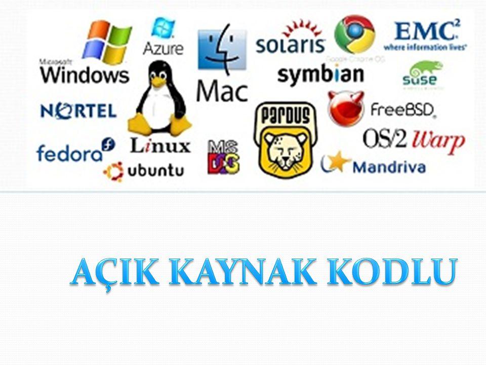 Uygulama Yazılımları Kullanıcıların belli başlı bazı işlemleri yapmalarına imkan veren yazılımlardır.