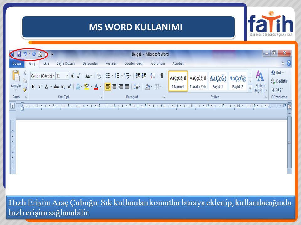 MS WORD KULLANIMI Sayfaya yukarıdaki şekilleri ekleyin. ŞEKİL EKLEME UYGULAMASI