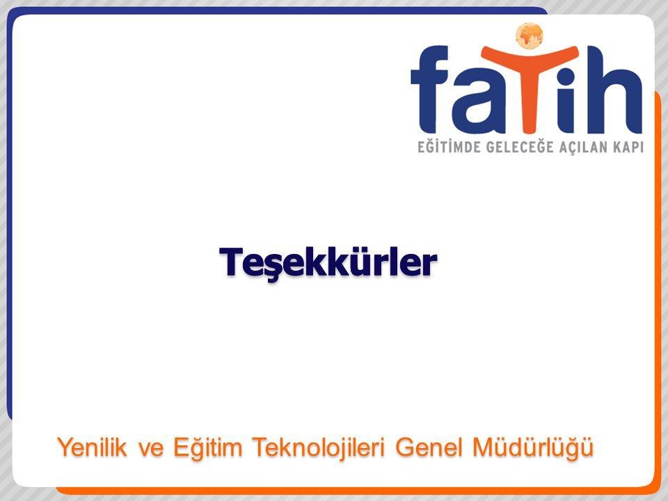 Yenilik ve Eğitim Teknolojileri Genel Müdürlüğü