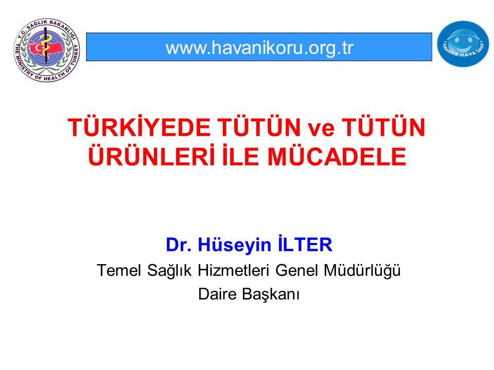 32 http://www.globalsmokefreepartnership.org/ficheiro/report.pdfhttp://www.globalsmokefreepartnership.org/ficheiro/report.pdf, raporuna göre Türkiye Tütünsüz Kanunu olan 13 ülke arasında.