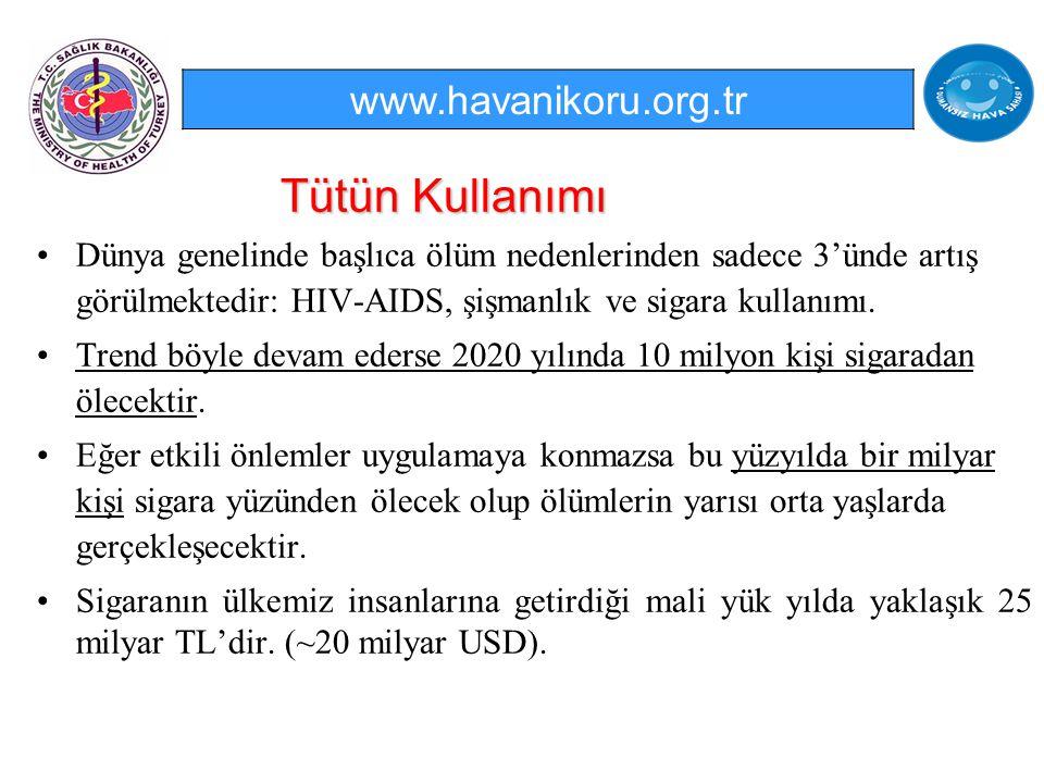 Türkiye'nin tütünle mücadelesinde gösterdiği etkin başarıya istinaden Sağlık Bakanı Prof.