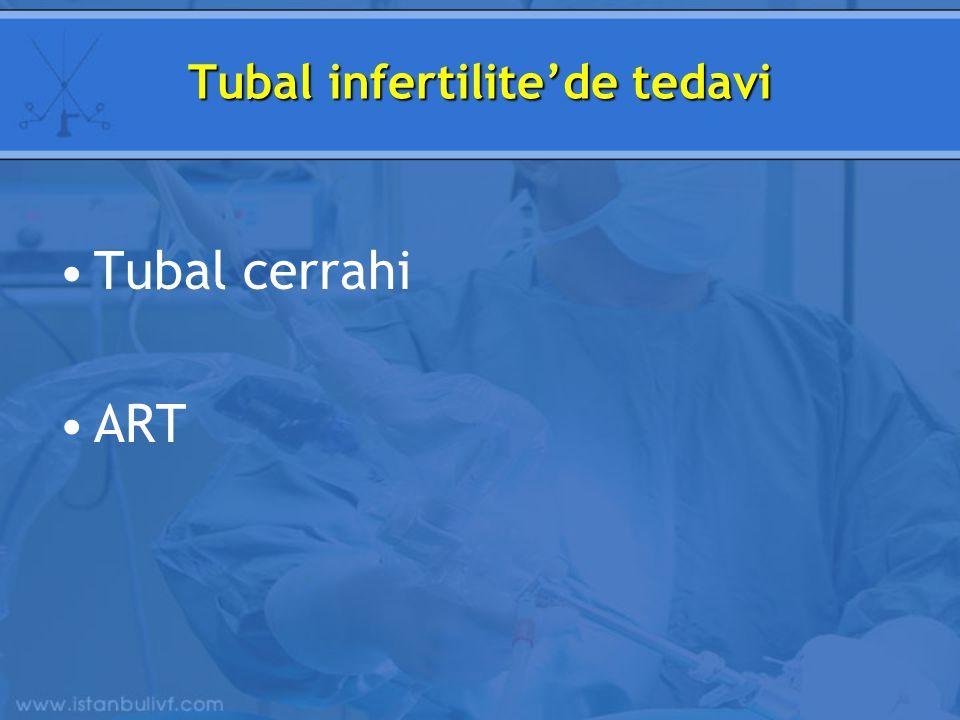 Tubal infertilite'de tedavi Tubal cerrahi ART