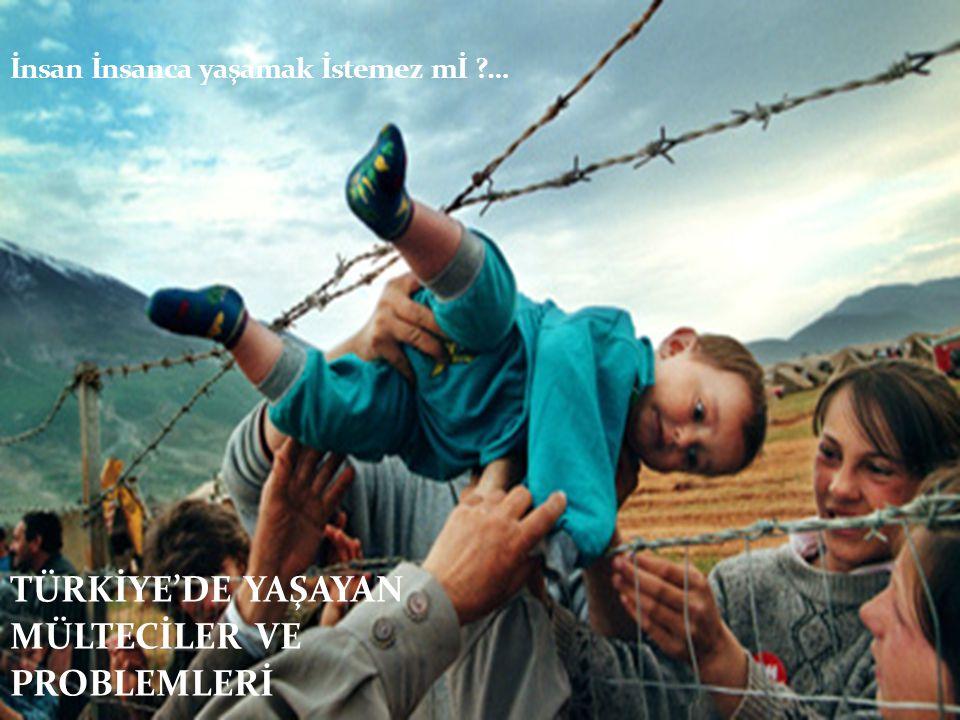 Türkiye, sığınmacı ve mülteciler açısından hem hedef ülke hem de geçiş ülkesi konumundadır.