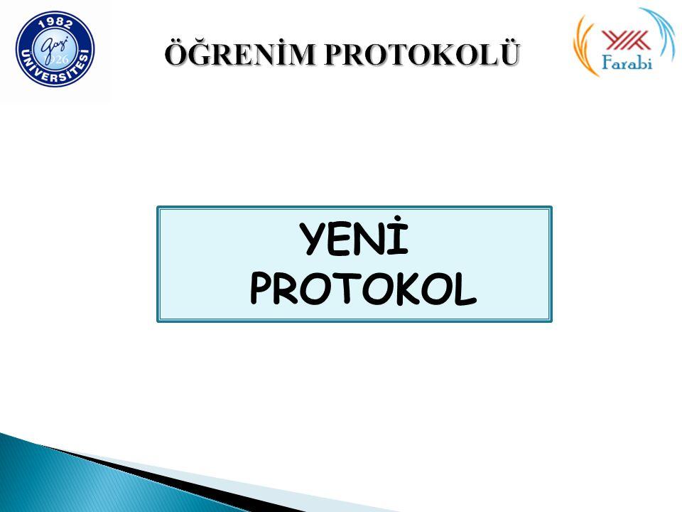 YENİ PROTOKOL