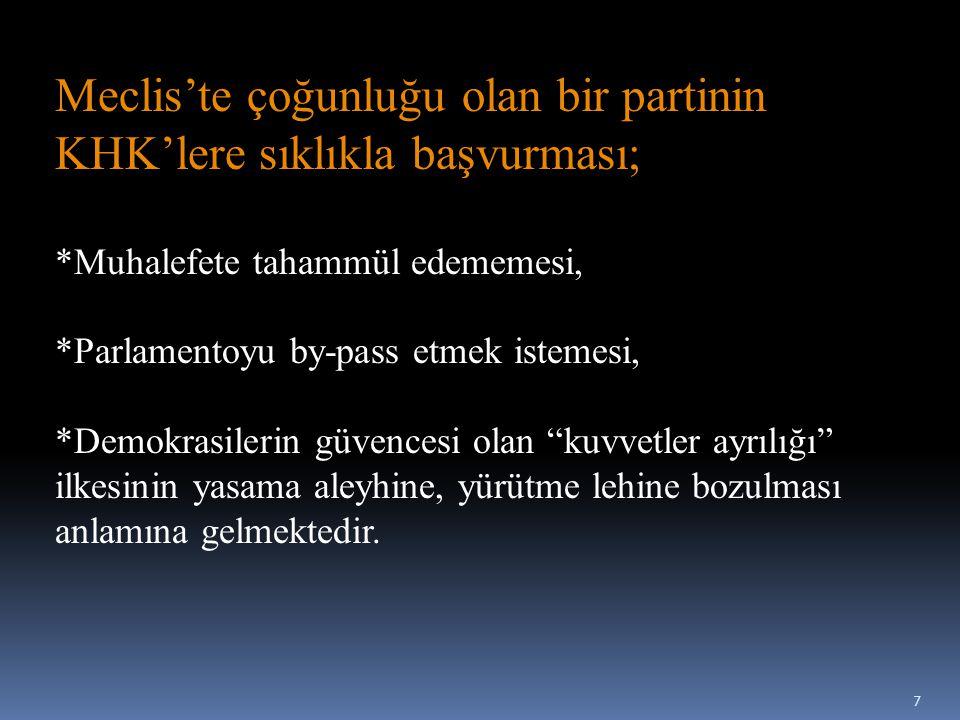 Son Çıkarılan Kanun Hükmünde Kararname KHK/663 SAĞLIK BAKANLIĞI VE BAĞLI KURULUŞLARININ TEŞKİLAT VE GÖREVLERİ HAKKINDA KANUN HÜKMÜNDE KARARNAME 8