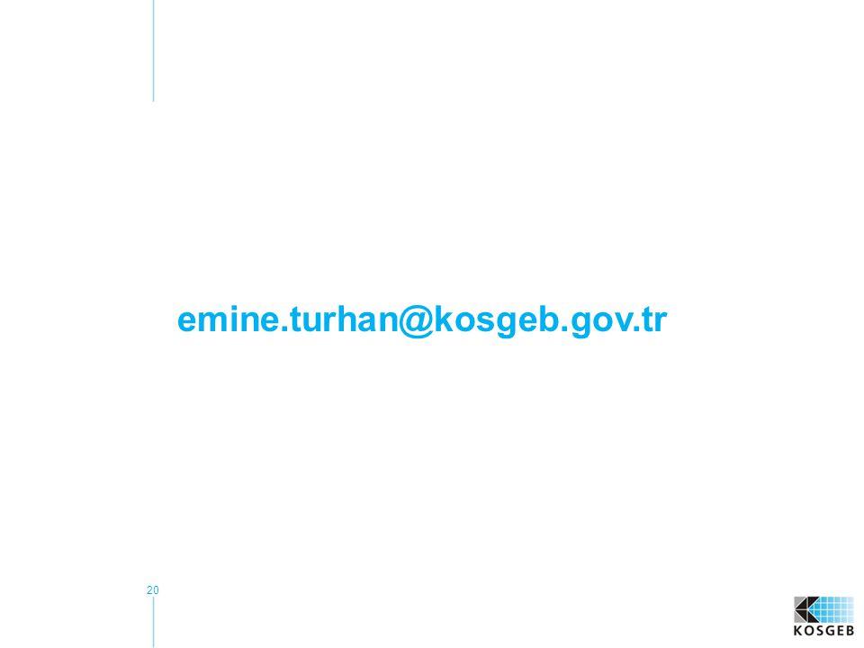 20 emine.turhan@kosgeb.gov.tr