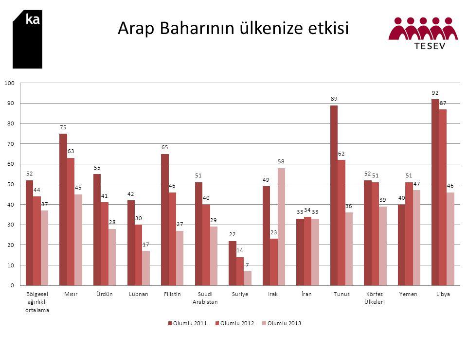 Arap Baharının ülkenize etkisi
