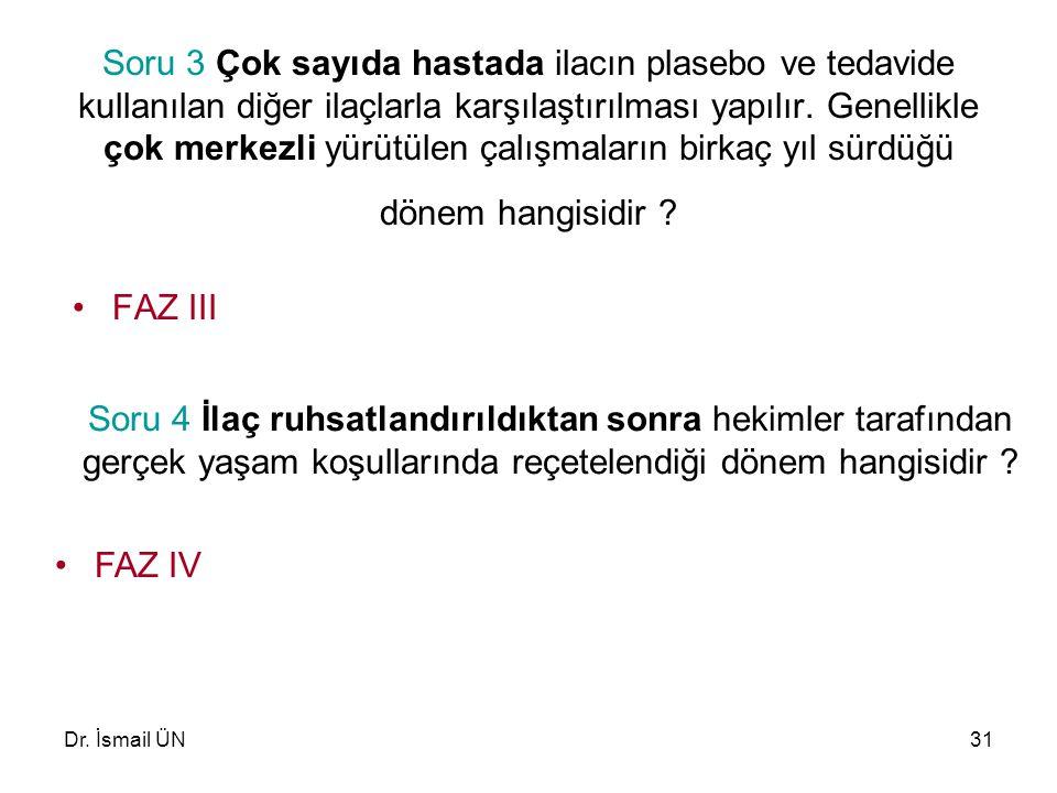 Dr.İsmail ÜN32 Soru 5 ………………..