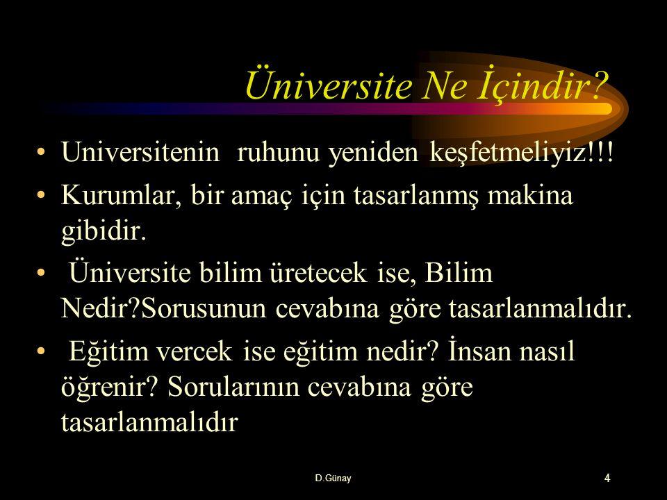 Çağımızda Yükseköğretim Genel ve mesleki eğitim önem kazanmaktadır.