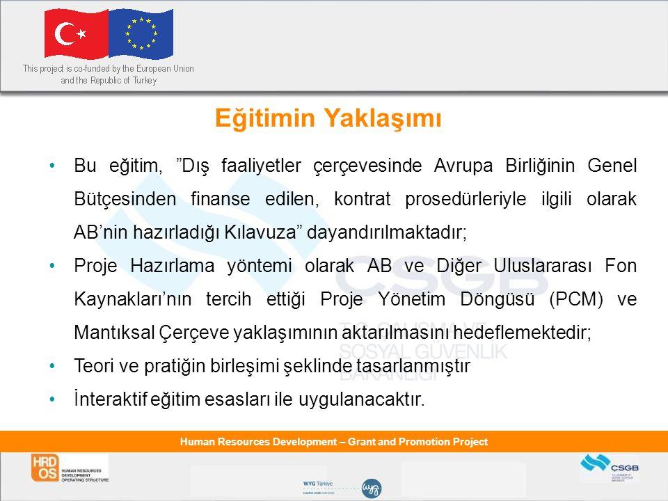 Human Resources Development – Grant and Promotion Project Avrupa Birliği ve Türkiye İlişkileri  EURO-MED-I Kapsamında- Kredi (1995-2000) 1995-2000 yılları arasında uygulanan EURO-MED-I kapsamında, Türkiye ye 205 milyon ECU tutarında kredi olanağı sağlanmıştır.