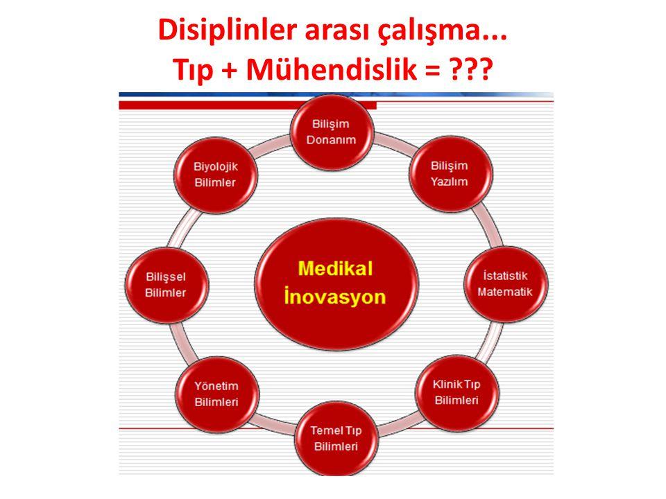 Disiplinler arası çalışma... Tıp + Mühendislik = ???