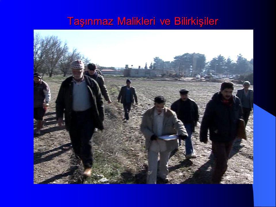 Taşınmaz Malikleri ve Bilirkişiler