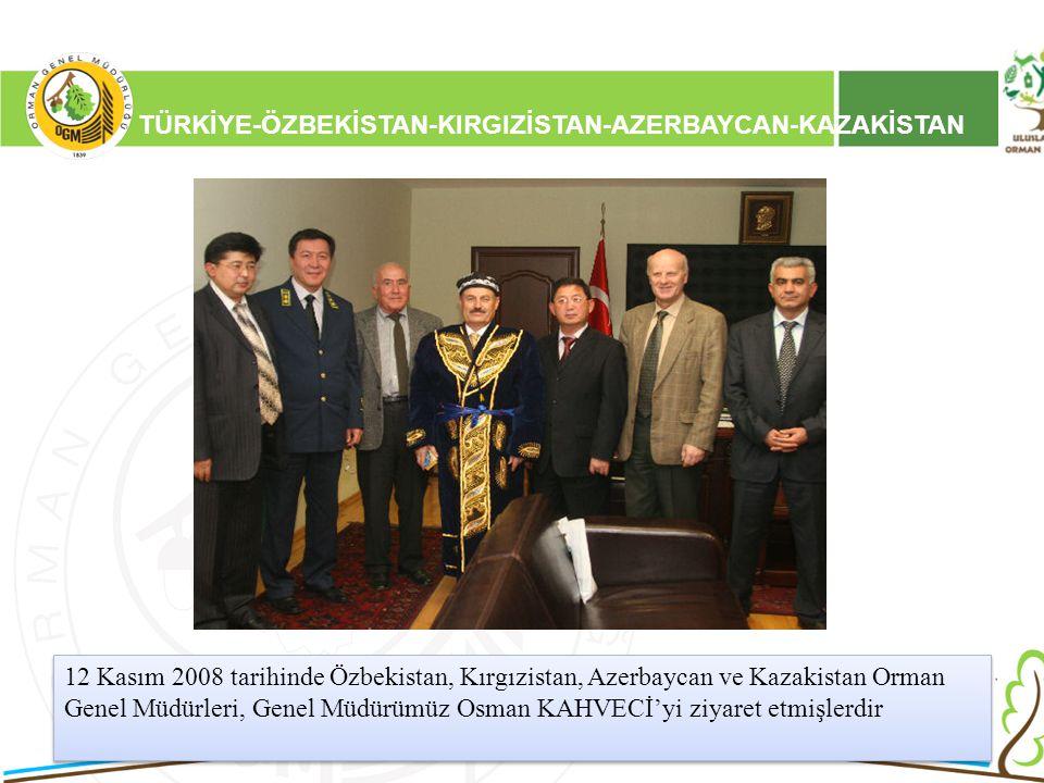16/12/2010 Kurumsal Kimlik 2 TÜRKİYE-ÖZBEKİSTAN-KIRGIZİSTAN-AZERBAYCAN-KAZAKİSTAN 12 Kasım 2008 tarihinde Özbekistan, Kırgızistan, Azerbaycan ve Kazak